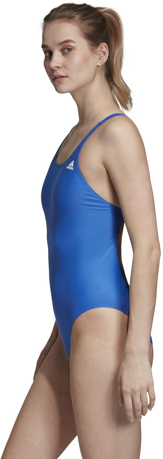 adidas Fitness Solid Badeanzug Damen blue